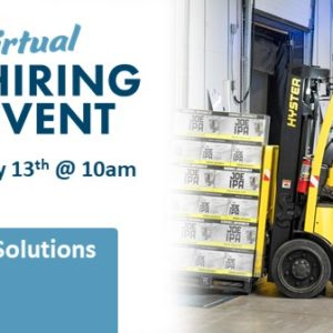 CitiStaff Solutions Virtual Hiring Event - May 13th 8