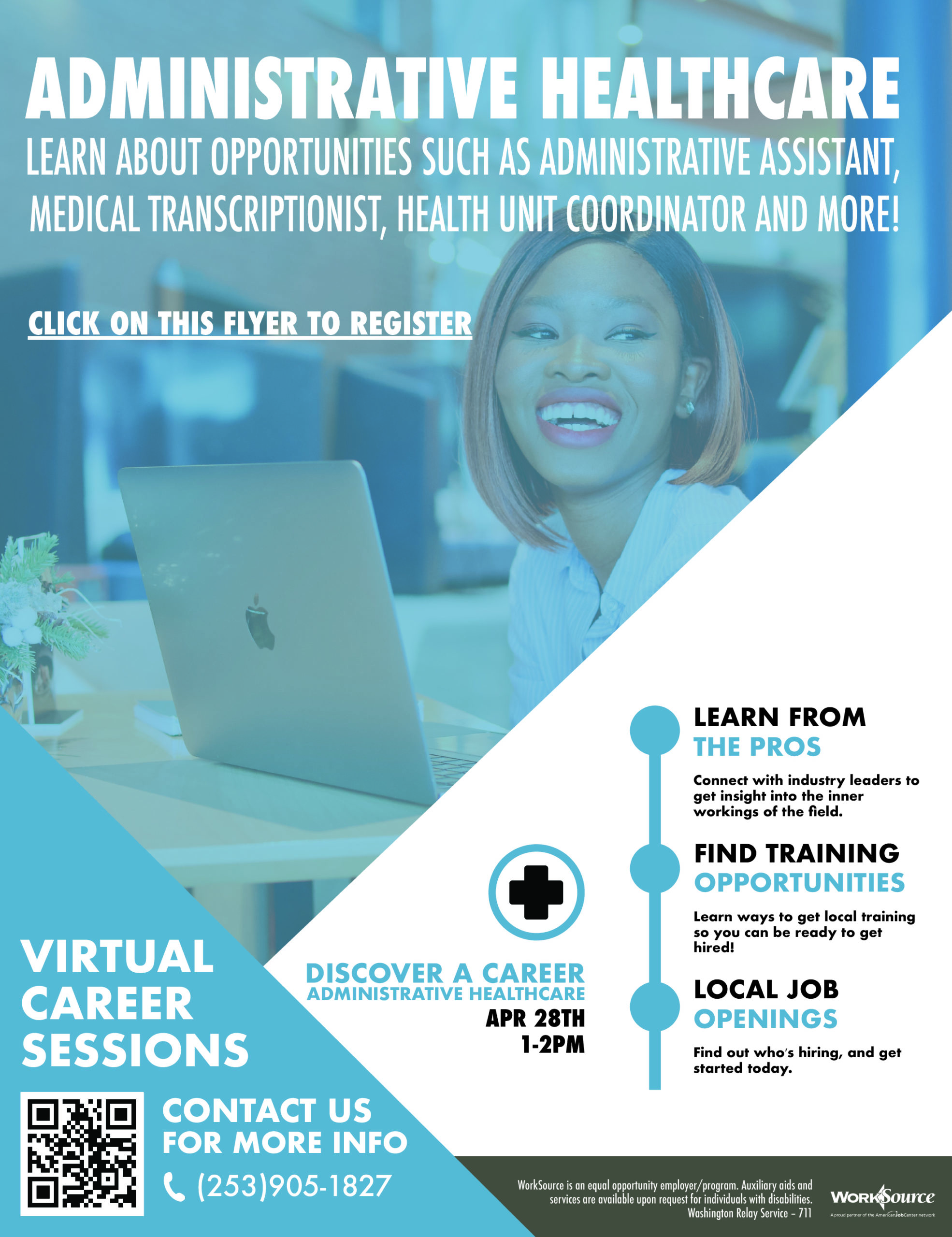 Administrative Healthcare Career Boost - April 28th 1
